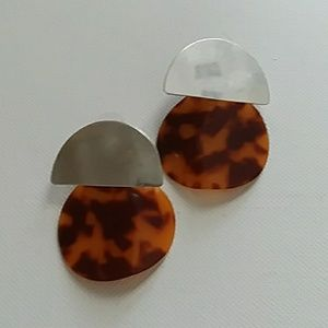 J. Crew Jewelry - J. Crew tortoise shell earrings